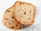 Рецепта Домашен селски хляб с мляко за хлебопекарна